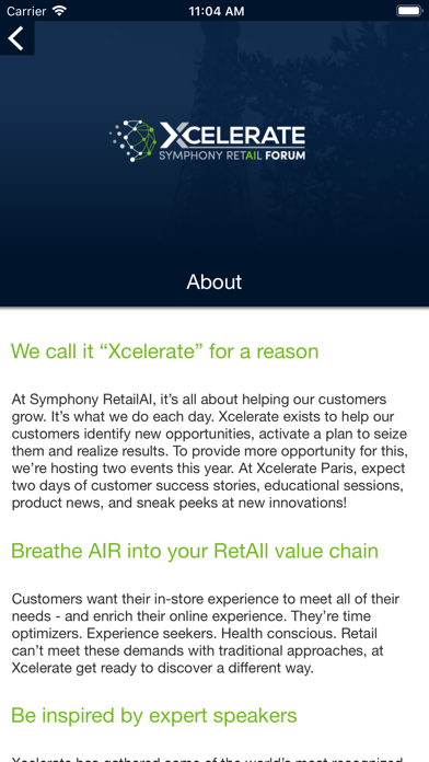 messages.download Xcelerate Retail Forum software