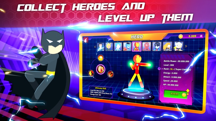 Super Stickman Heroes Warriors screenshot-4