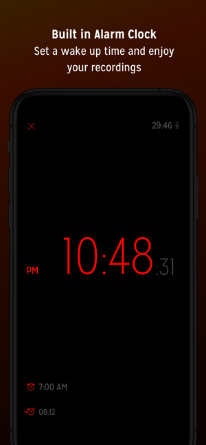 ‎Sleep Talk Recorder Screenshot