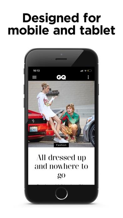 Gq Uk Mens Lifestyle Magazine review screenshots
