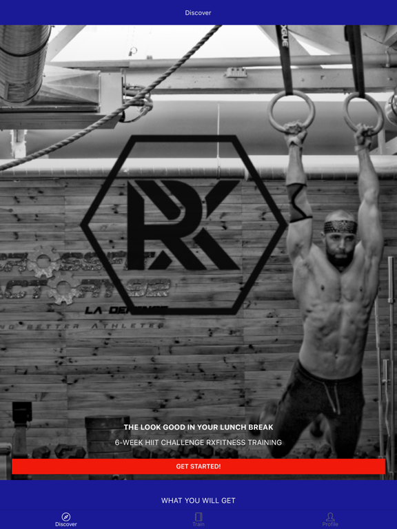 RXfitness screenshot 5