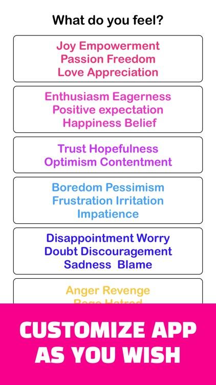 Joy : Emotional State Tracking screenshot-6