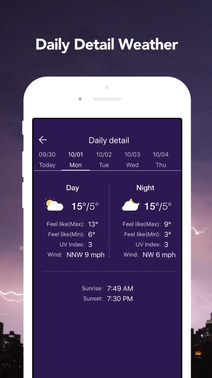 Live Weather: Weather Radar screenshot-5