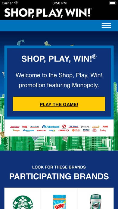 download Shop, Play, Win!® MONOPOLY apps 0