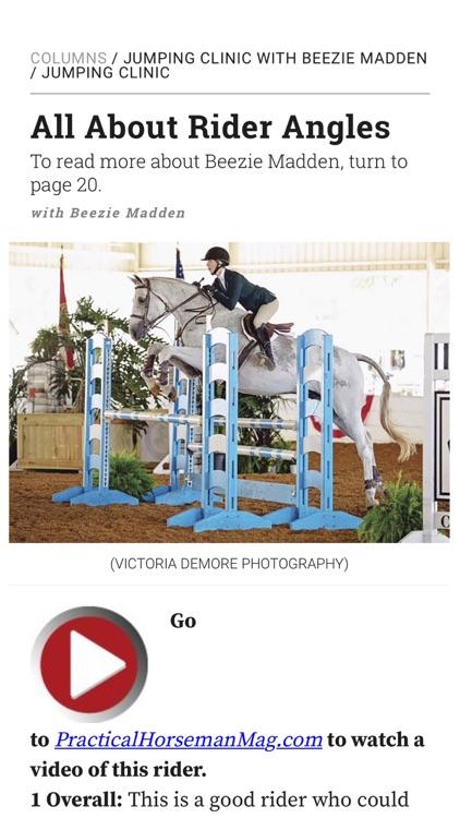 Practical Horseman Magazine HD screenshot-6