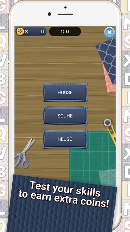 Word Stitch - Sewing Crossword screenshot-4