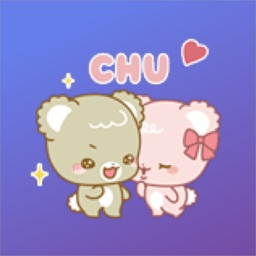 Cute Bear Animated Sticker