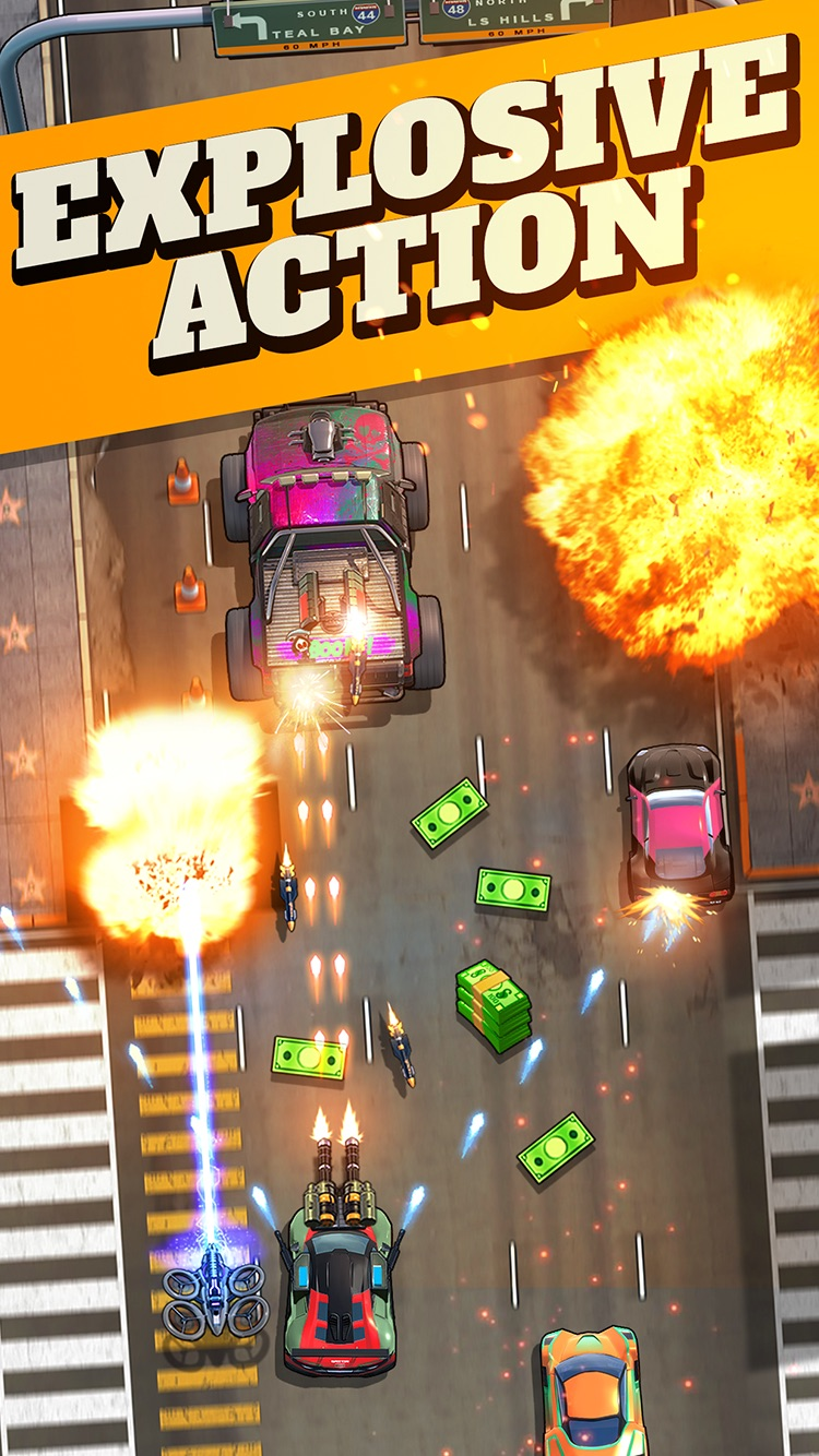 Fastlane: Road to Revenge Screenshot