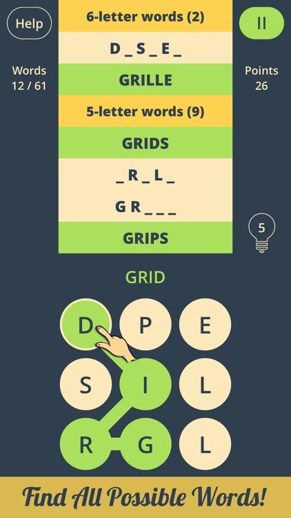 Spell Grid 2: Brain Teasers