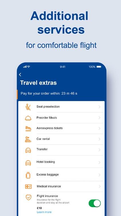 Aeroflot – air tickets online screenshot-4