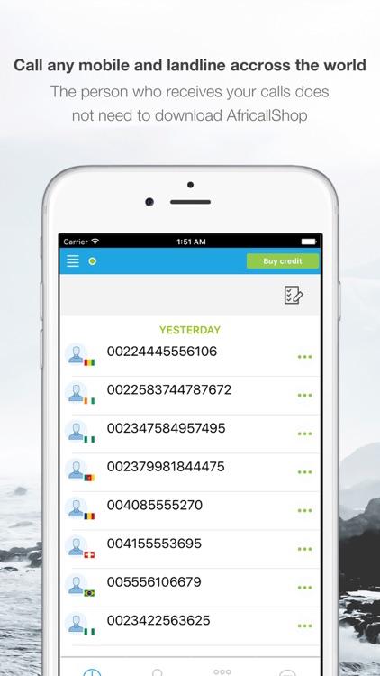 Africallshop - call Africa screenshot-3