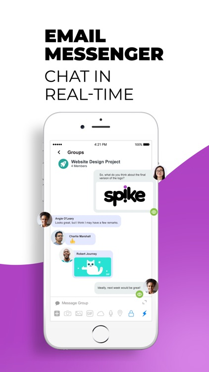 Spike Email - Team Chat & Mail screenshot-3