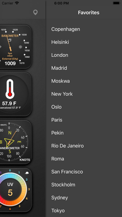 The Weather Station Screenshot