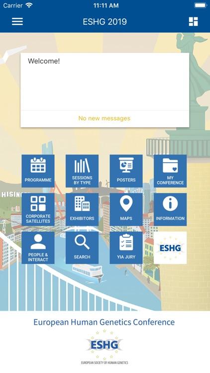 European Soc. of Human Genetic screenshot-3