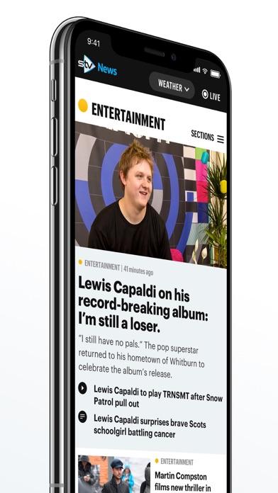 STV News screenshot four
