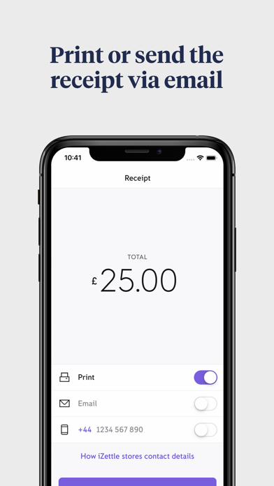 iZettle Go: the easy POS screenshot four