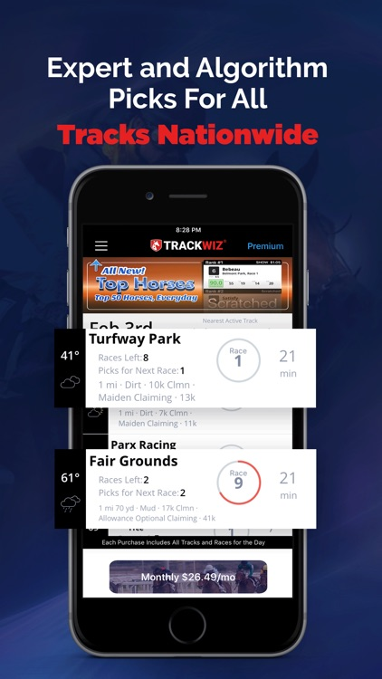 Horse Racing Betting TrackWiz screenshot-4
