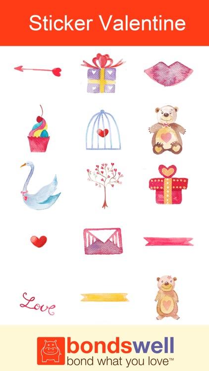 Sticker Valentine