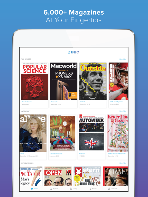 ZINIO - Magazine Newsstand | App Price Drops