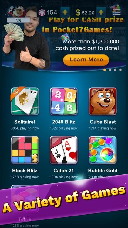 Pocket7Games: Play for Cash screenshot-5