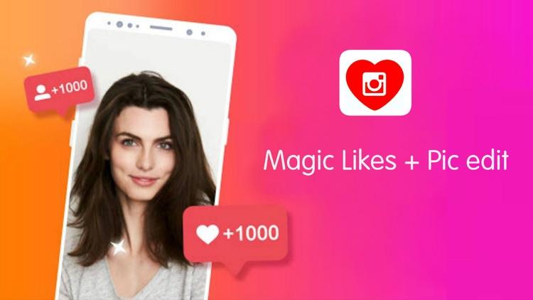 Magic Likes + Pic edit