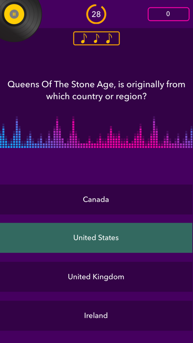 Trivial Music Quiz screenshot four
