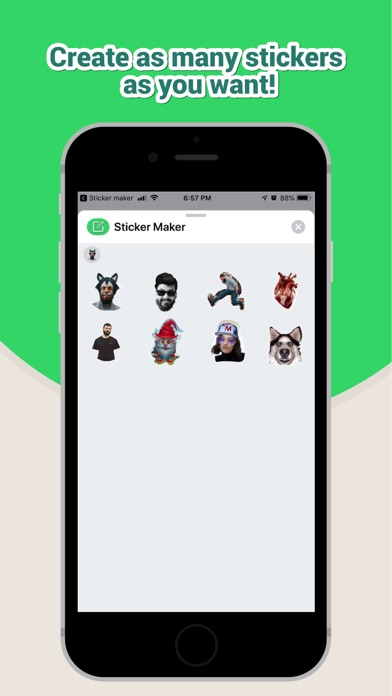 Screenshot for Sticker Maker Studio in Mexico App Store