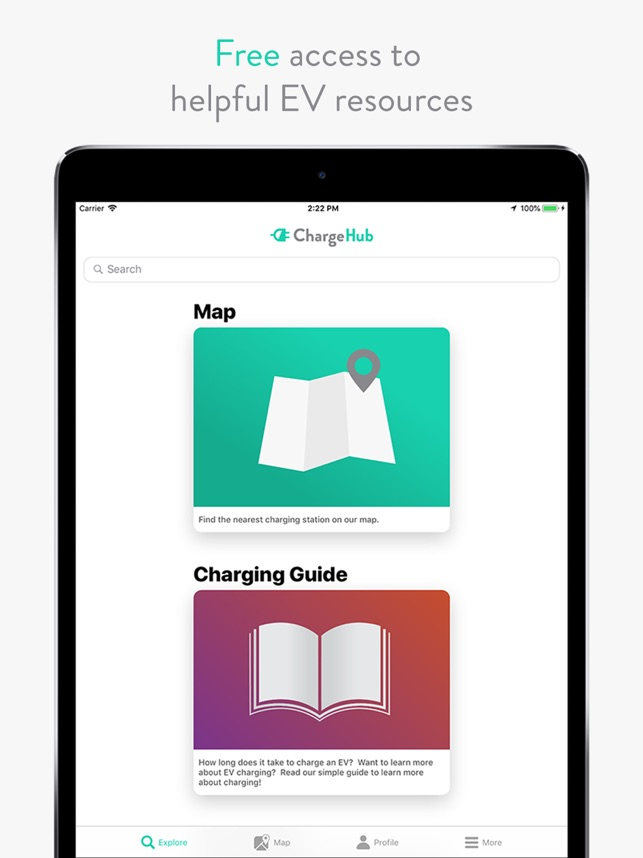 ChargeHub EV Map on the App Store on