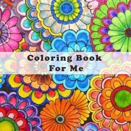 Mandala Coloring Book for Me