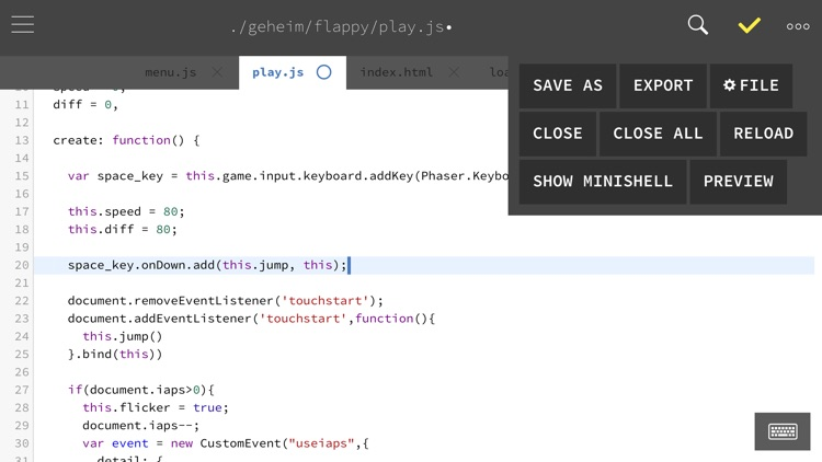 GoCoEdit - Code & Text Editor screenshot-3