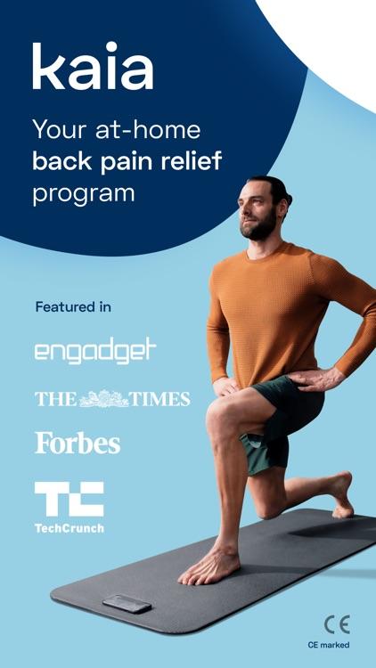 Back Pain Exercises - Kaia screenshot-0