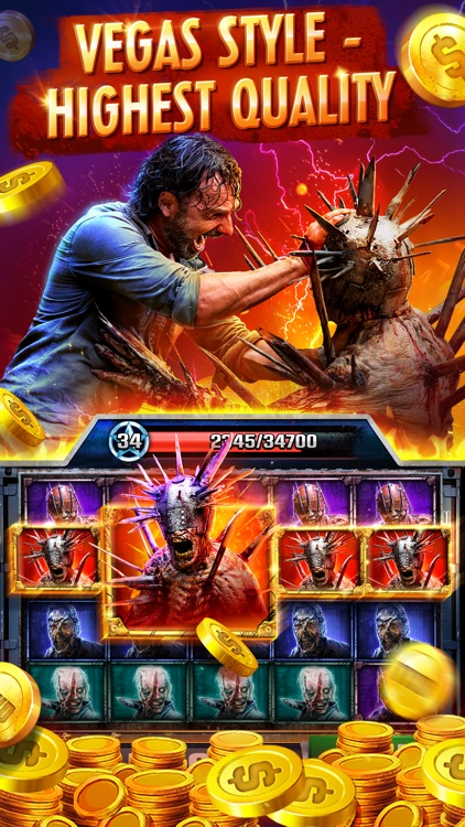 The Walking Dead Casino Slots screenshot-0