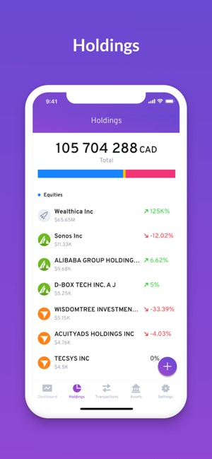 Wealthica on the App Store