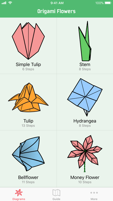 Origami Flowers Screenshots