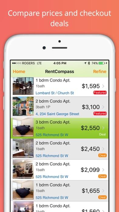 Screenshot for Rent Compass Apartment Finder in Azerbaijan App Store