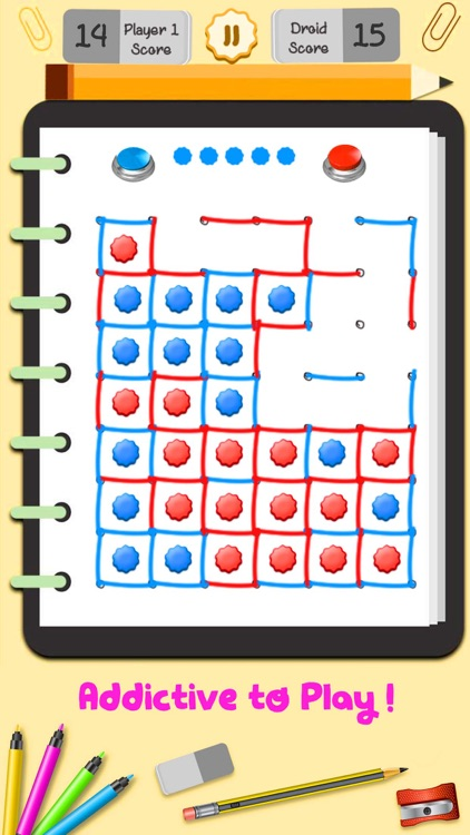 Dot and Boxes Puzzle Game screenshot-4