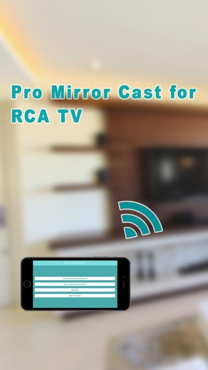 Pro Mirror Cast for RCA TV