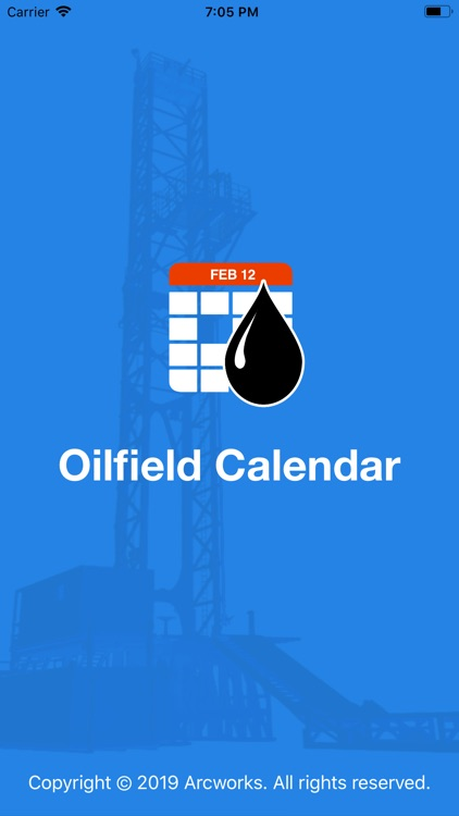 Oilfield Calendar screenshot-0