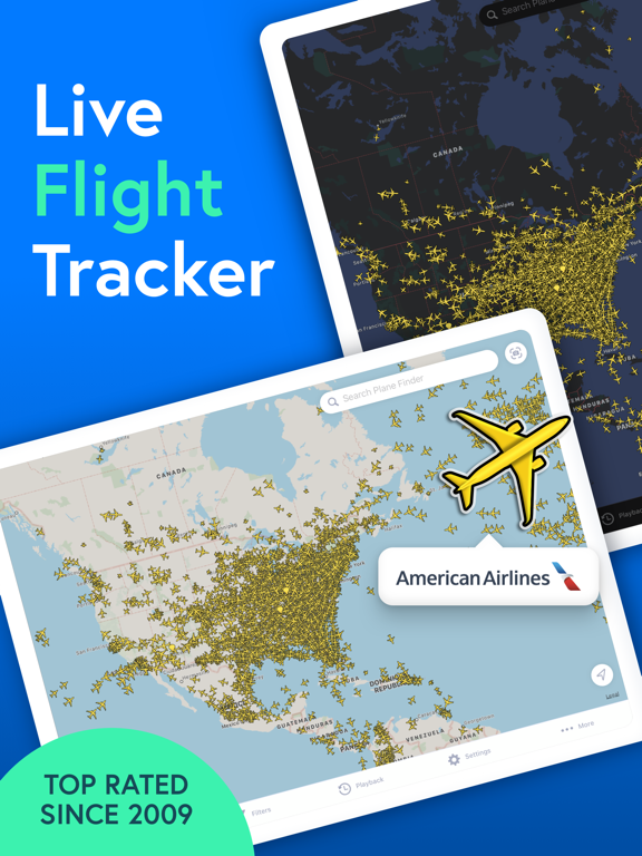 Plane Finder screenshot