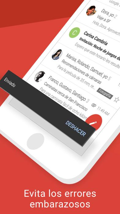 Screenshot for Gmail: El correo de Google in Venezuela App Store