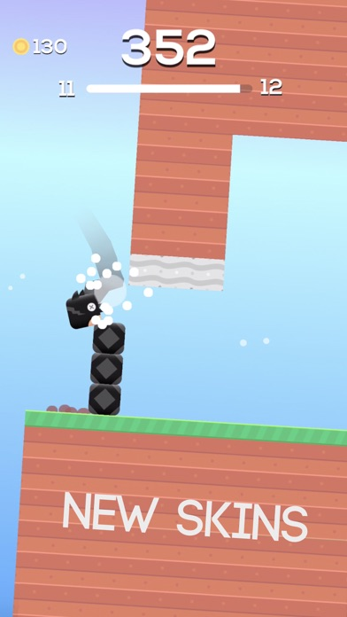 Square Bird. Screenshot 5