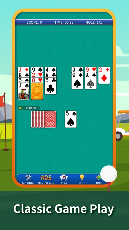 Golf Solitaire Classic.