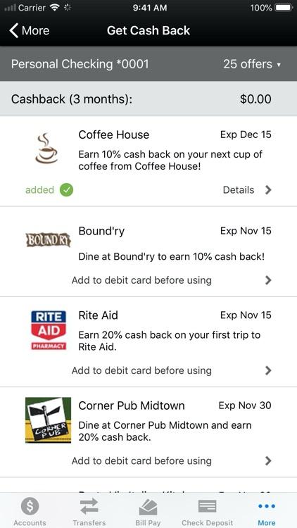 1st Source Bank Mobile Banking screenshot-6