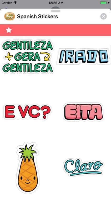 Spanish Stickers screenshot-4