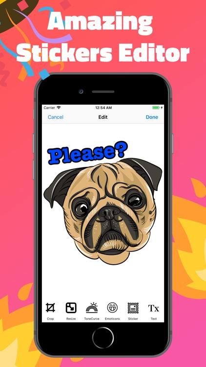 Sticker Maker for Messengers screenshot-3