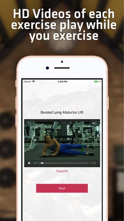 Big Butt & Leg Workout screenshot-4