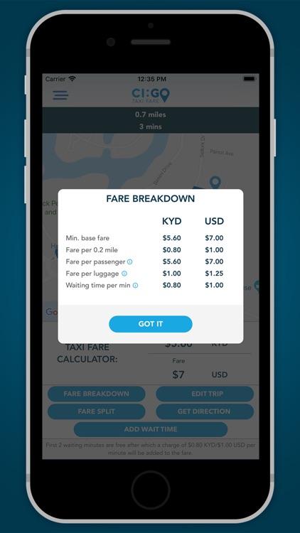 CIGO Taxi Fare screenshot-4