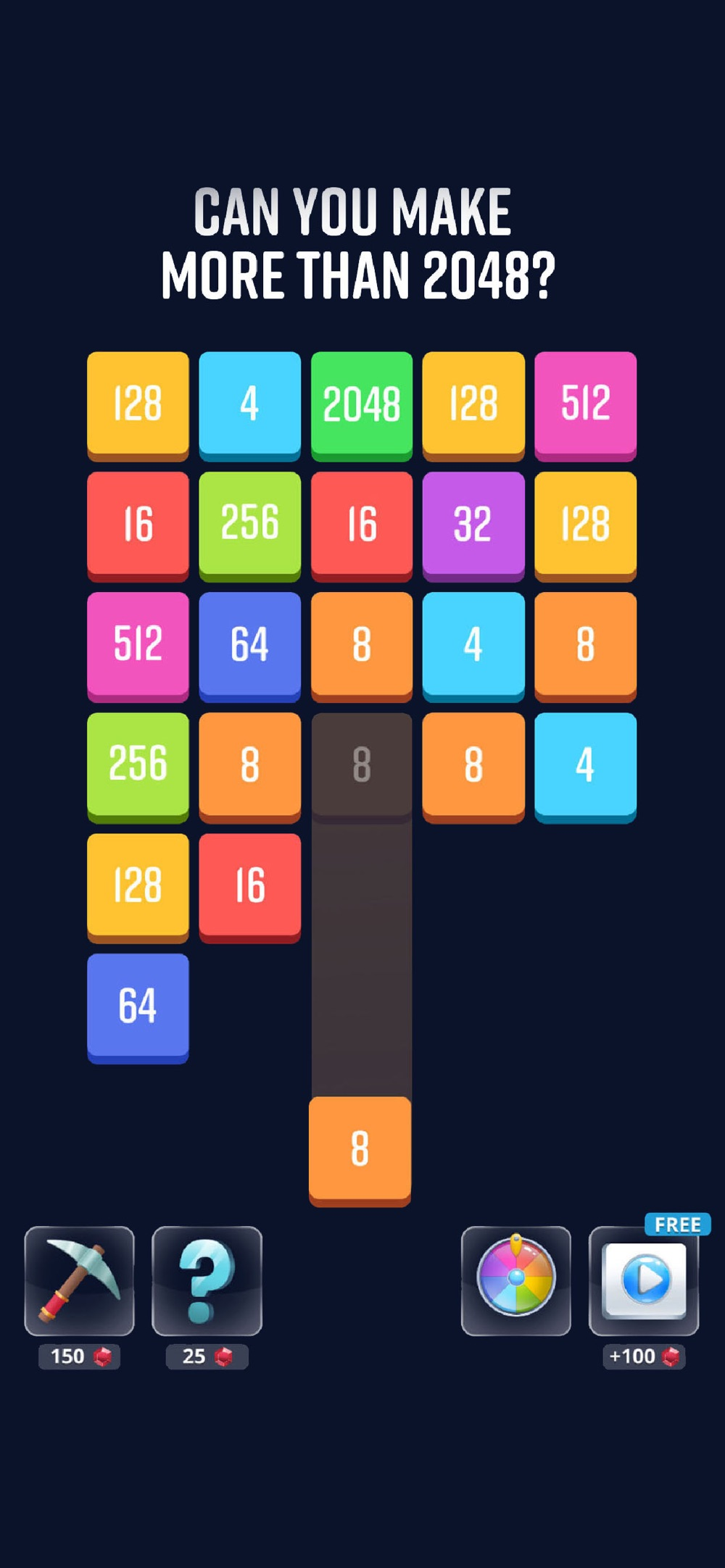 2048 Blocks™ Cheat Codes