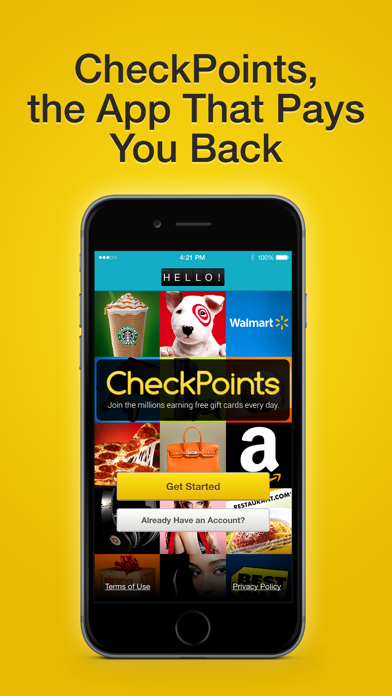 CheckPoints #1 Rewards App And Free Barcode Scanner screenshot