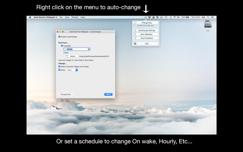 Multi Monitor Wallpaper Screenshot